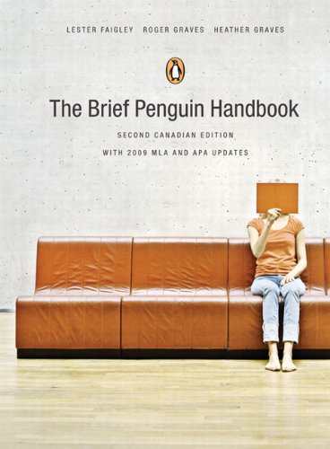 9780321694898: The Brief Penguin Handbook, Second Canadian Edition, with MyCanadianCompLab (2nd Edition)