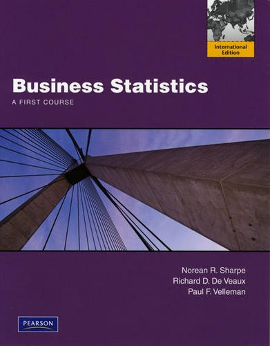 9780321695093: Business Statistics: A First Course