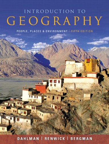 9780321695314: Introduction to Geography: People, Places, and Environment