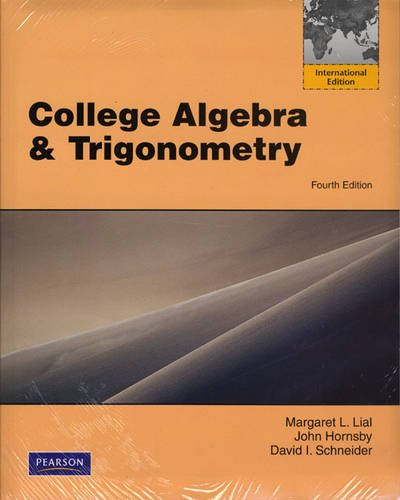 9780321695444: College Algebra and Trigonometry Plus MyMathLab Student Access Kit