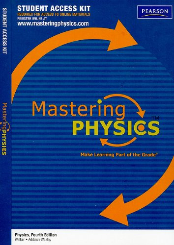 9780321696274: MasteringPhysics Student Access Kit for Physics (Mastering Physics (Access Codes))