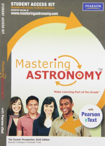 9780321696823: MasteringAstronomy with Pearson eText Student Access Kit for The Cosmic Perspective (6th Edition)
