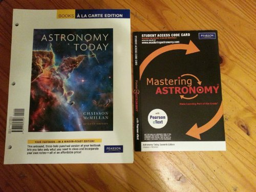 Astronomy Today, Books a la Carte Edition (7th Edition) (0321698509) by Eric Chaisson; Steve McMillan