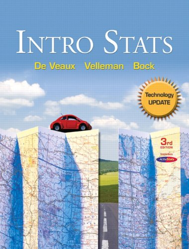 9780321699121: Intro Stats Technology Update (3rd Edition)