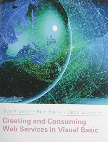 9780321701398: Creating and Consuming Web Services in Visual Basic (paperback)
