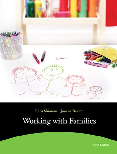 9780321701473: Working with Families (5th Edition)