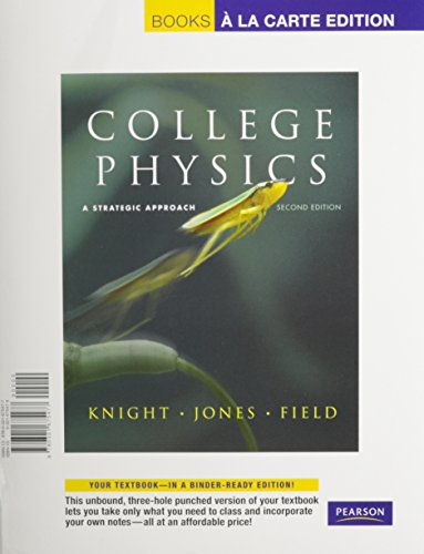 9780321701718: College Physics: A Strategic Approach, Books a la Carte Plus MasteringPhysics (2nd Edition)