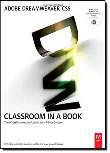 9780321701770: Adobe Dreamweaver CS5 Classroom in a Book: The Official Training Workbook from Adobe Systems [With DVD ROM]