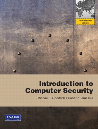 9780321702012: Introduction to Computer Security: International Version