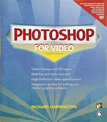 9780321703552: Photoshop for Video (4th Edition)