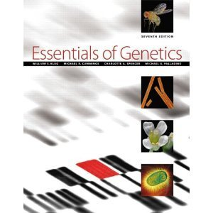 9780321704092: Essentials of Genetics with Study Guide and Solutions Manual (7th Edition)