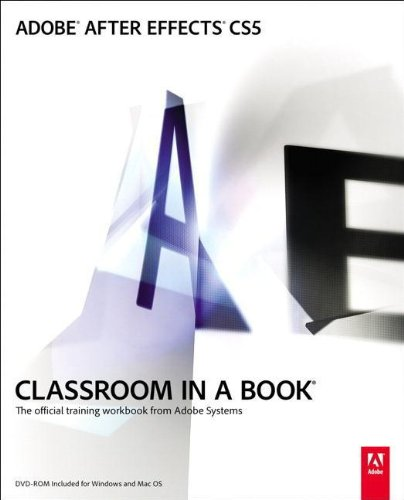 9780321704498: Adobe After Effects CS5 Classroom in a Book