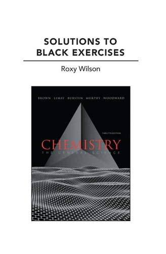 9780321705013: Solutions to Black Exercises for Chemistry: The Central Science