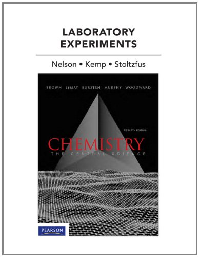9780321705020: Laboratory Experiments for Chemistry: The Central Science (12th Edition)