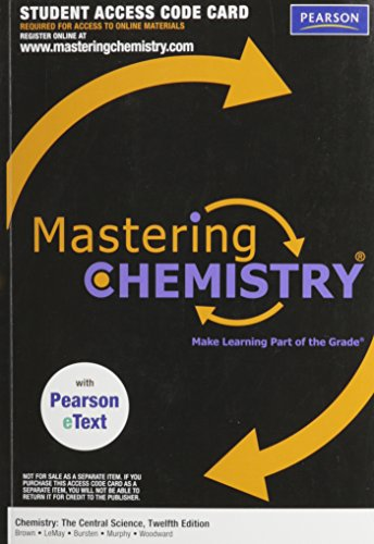 Chemistry: Central Science - Access (5106)