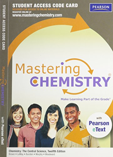 9780321705129: Mastering Chemistry Standalone Access Card (Chemistry the Central Science)