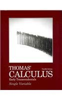 9780321705402: Thomas' Calculus Early Transcendentals, Single Variable with MML/MSL Student Access Code Card (12th Edition)