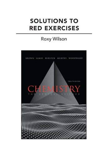 9780321705488: Solutions to Red Exercises for Chemistry: The Central Science