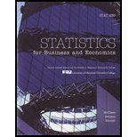 Statistics for Business and Economics, Books a la Carte Edition with MyStatLab (11th Edition): ...