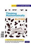 9780321706058: Thinking Mathematically, A La Carte with MML/MSL Student Access Kit (adhoc for valuepacks) (5th Edition)