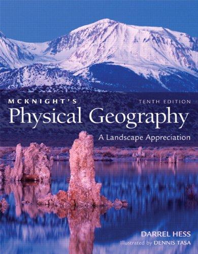 9780321706973: McKnight's Physical Geography: A Landscape Appreciation, Books a la Carte Edition (10th Edition)