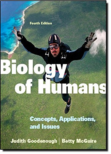 9780321707024: Biology of Humans: Concepts, Applications, and Issues (4th Edition)