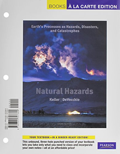 Natural Hazards: Earth's Processes as Hazards, Disasters,: Edward A. Keller;
