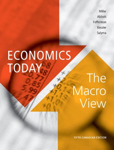 9780321708731: Economics Today: The Macro View, Fifth Canadian Edition (5th Edition)