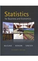 9780321708991: Statistics for Business and Economics plus MyMathLab/MyStatLab Student Access Code Card (11th Edition)