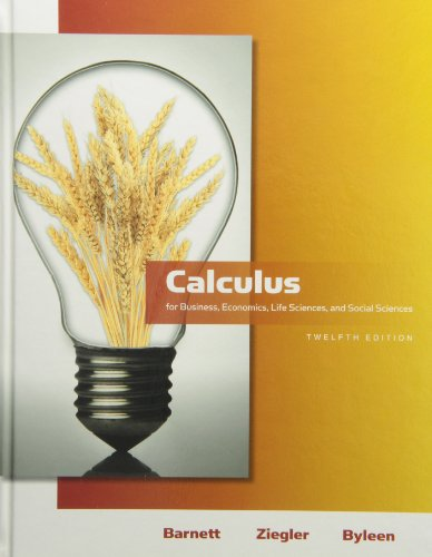 9780321709011: Calculus for Business, Economics, Life Sciences & Social Sciences plus MyMathLab/MyStatLab Student Access Code Card (12th Edition)