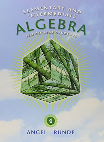 9780321709028: Elementary & Intermediate Algebra for College Students plus MyMathLab/MyStatLab Student Access Code Card (4th Edition)