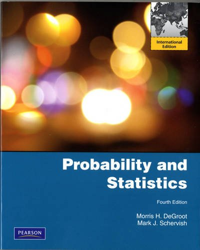 9780321709707: Probability and Statistics: International Edition