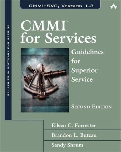 9780321711526: CMMI for Services: Guidelines for Superior Service (Sei Series in Software Engineering)