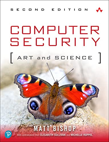 9780321712332: Computer Security: Art and Science (2nd Edition)