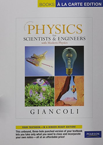 9780321712592: Physics for Scientists & Engineers with Modern Physics, Books a la Carte Plus Mastering Physics (4th Edition)