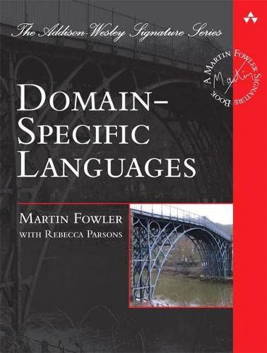 9780321712943: Domain Specific Languages (Addison Wesley Signature Series)
