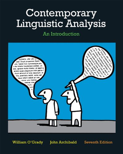 9780321714510: Contemporary Linguistic Analysis: An Introduction (7th Edition)