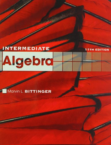Intermediate Algebra plus MyMathLab/MyStatLab Student Access Code Card (11th Edition) (0321714555) by Marvin L. Bittinger