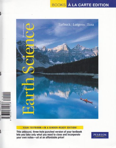 9780321714848: Earth Science, Books a la Carte Edition (13th Edition)