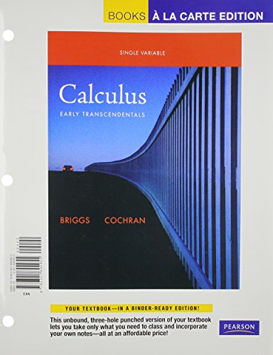 9780321715173: Single Variable Calculus: Early Transcendentals, Books a la Carte Plus MyMathLab/MyStatLab -- Access Card Package