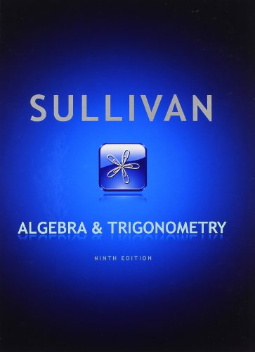 9780321716569: Algebra and Trigonometry (9th Edition)