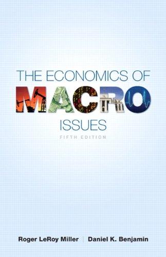 9780321716798: The Economics of Macro Issues (5th Edition) (Pearson Series in Economics)