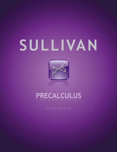9780321716835: Precalculus (9th Edition)