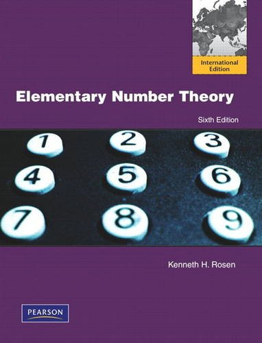 9780321717757: Elementary Number Theory