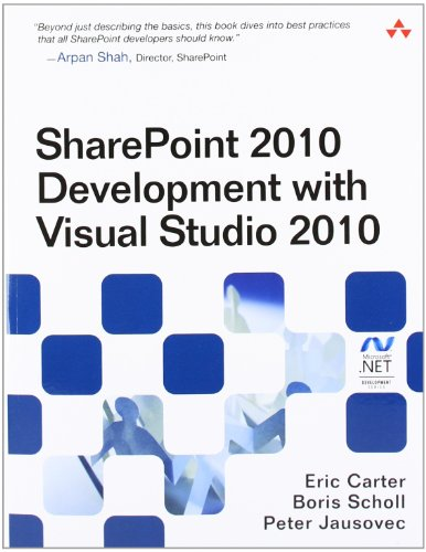 9780321718310: SharePoint 2010 Development with Visual Studio 2010 (Microsoft Windows Development Series)