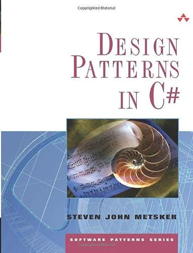 9780321718938: Design Patterns in C# (Software Patterns)