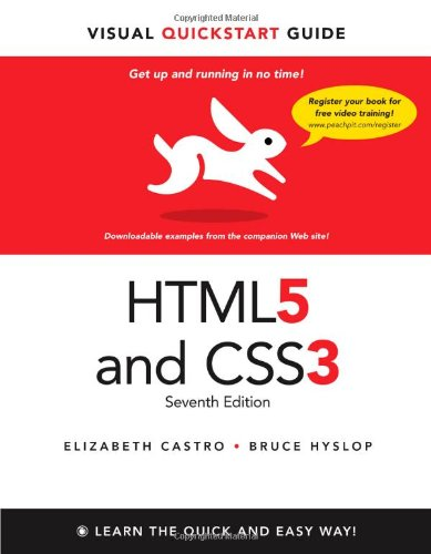 9780321719614: HTML5 & CSS3 Visual QuickStart Guide (7th Edition)