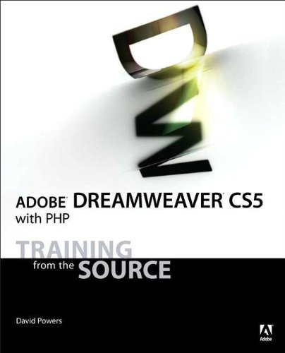 9780321719843: Adobe Dreamweaver CS5 with PHP (Training from the Source)