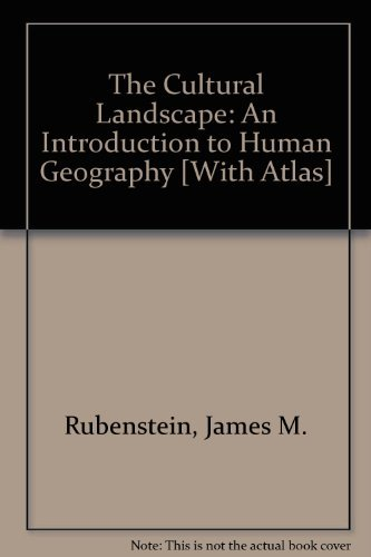 9780321720153: The Cultural Landscape: An Introduction to Human Geography [With Atlas]