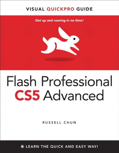 9780321720344: Flash Professional CS5 Advanced for Windows and Macintosh: Visual QuickPro Guide